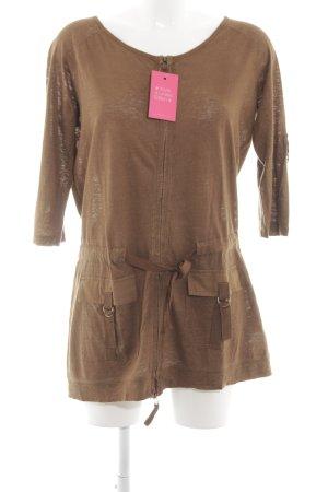 Apriori Shirtjacke bronzefarben Casual-Look