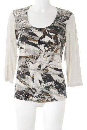 Apriori Shirttunika abstraktes Muster Elegant
