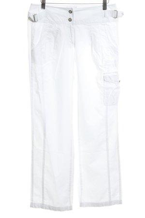 Apriori Spodnie materiałowe biały W stylu casual