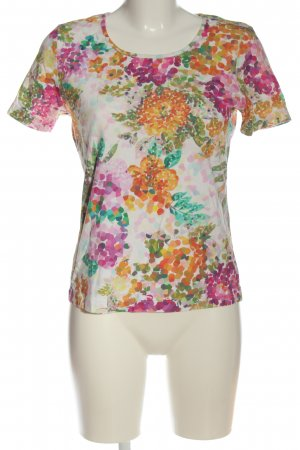 Apriori Gebreid shirt volledige print casual uitstraling