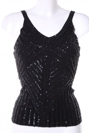Apriori Knitted Top black elegant