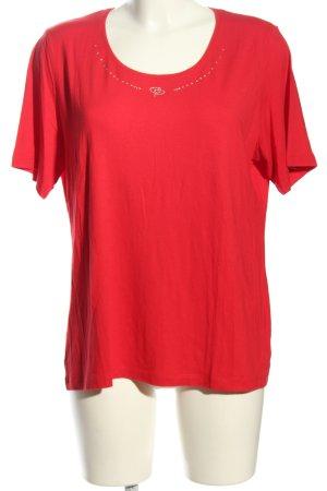 Apriori T-shirt rouge style décontracté