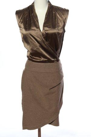 Apriori Blusenkleid goldfarben-braun Elegant