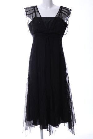 Apriori Pinafore dress black elegant