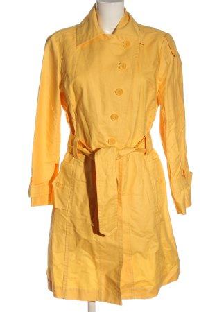Apriori Cappotto mezza stagione giallo pallido elegante