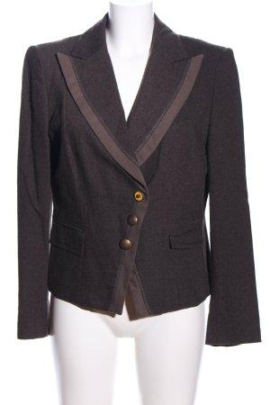 Apriori Blazer en laine brun moucheté style d'affaires