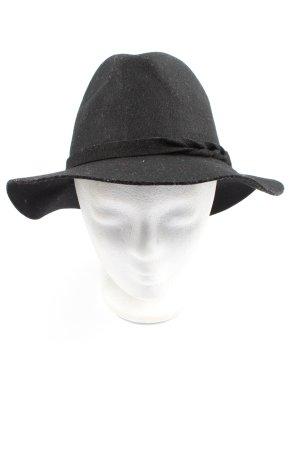 APT.9 Sombrero de fieltro negro estilo clásico
