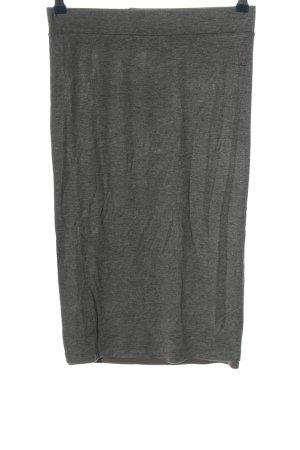 APT.9 Spódnica midi jasnoszary Melanżowy W stylu casual