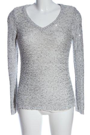 APT.9 Sweter z dekoltem w kształcie litery V jasnoszary W stylu casual