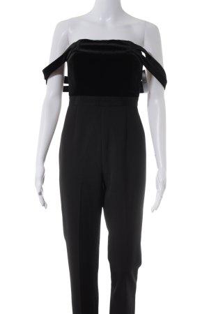 AQAQ Jumpsuit zwart elegant