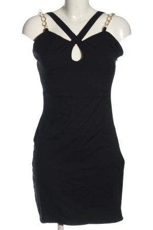 Aqua Mini-jurk zwart elegant