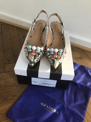 Aquazzura Slingback Pumps multicolored