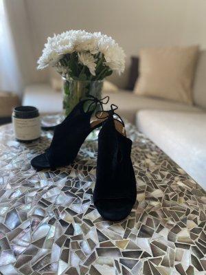 Aquazzura Sandaletto con tacco alto nero Pelle