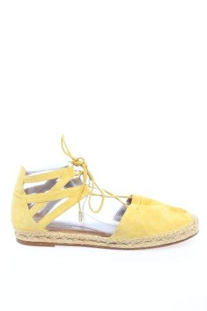 Aquazzura Espadrille jaune primevère style décontracté
