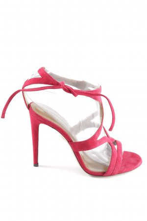 Aquazzura Sandaletto con tacco alto bordeaux elegante
