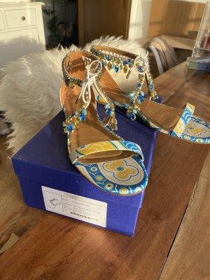 Aquazzura Sandalo con cinturino blu