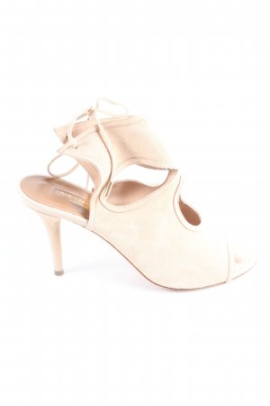 Aquazzura Peep Toe Pumps room casual uitstraling