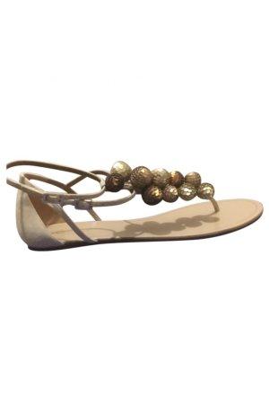 Aquazzura Flip flop sandalen wolwit