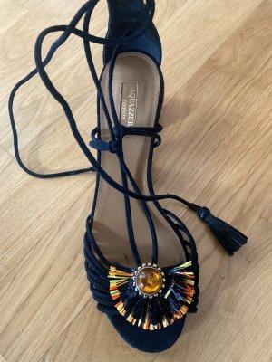 Aquazzura Sandały z rzemykami Wielokolorowy