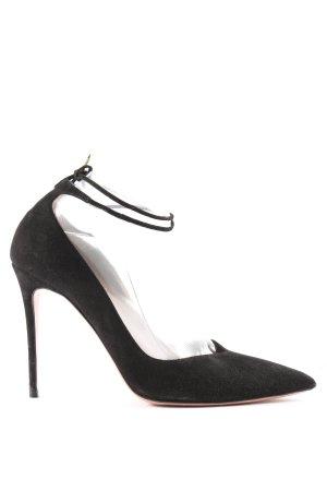 Aquazzura Stiletto noir style d'affaires