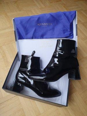 Aquazzura Stiefeletten Lackleder schwarz 38