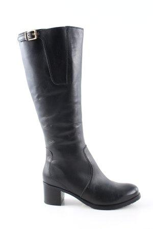 ara Heel Boots black casual look