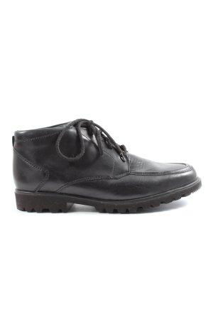 ara Chukka boot noir style décontracté