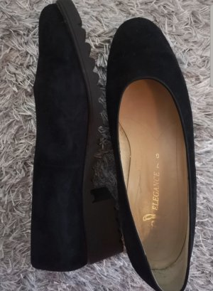 ara Backless Pumps black-dark blue