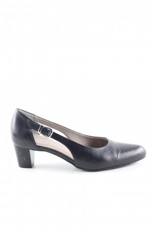 ara High Heels dunkelblau Business-Look