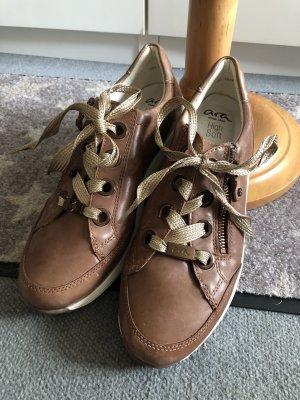 ara Sneakers met veters lichtbruin