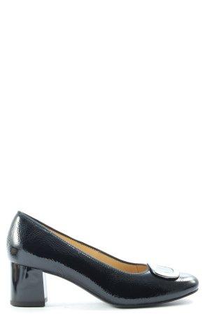 ara Buty z zabudowanym przodem czarny W stylu biznesowym