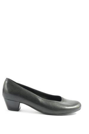 ara Chaussure à talons carrés noir style décontracté