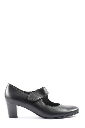 ara Chaussure à talons carrés noir style d'affaires