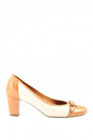 ara High Heels hellorange-creme Casual-Look