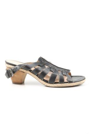 ara Komfort-Sandalen schwarz-creme Casual-Look