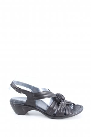 ara Wygodne sandały czarny W stylu casual