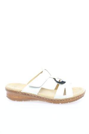ara Wygodne sandały biały-srebrny W stylu casual