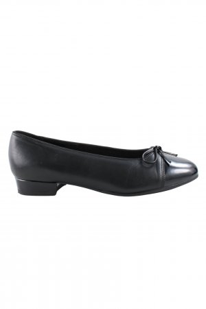 ara Lackballerinas schwarz Business-Look