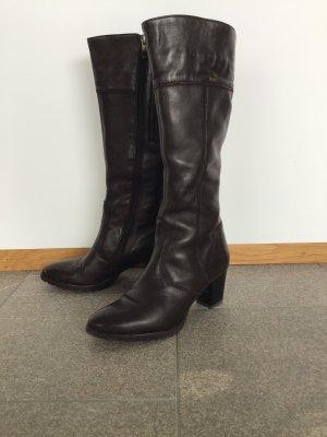 ara Winter Boots dark brown leather