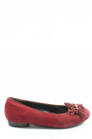 Ara Luftpolster Classic Ballet Flats red classic style