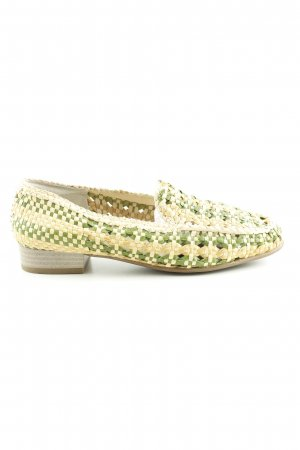 ara Moccasins cable stitch casual look