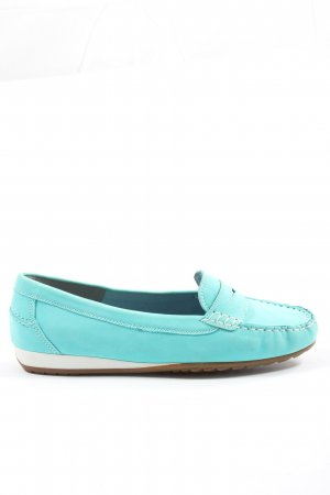 ara Moccasins turquoise casual look