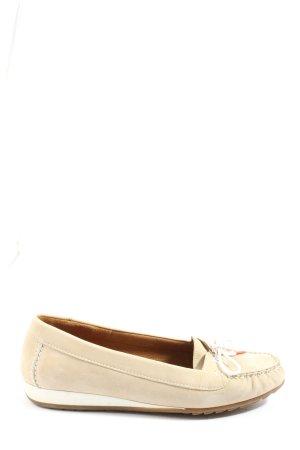 ara Mokasyny w kolorze białej wełny-biały W stylu casual