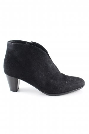 ara Reißverschluss-Stiefeletten schwarz Casual-Look