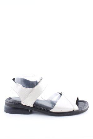 ara Sandalen met bandjes wit casual uitstraling