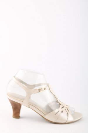 ara Strapped High-Heeled Sandals natural white casual look