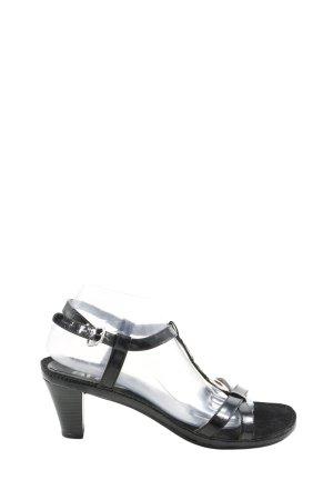 ara Riemchen-Sandaletten schwarz Casual-Look