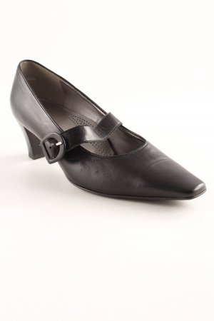 ara Strapped pumps black leather