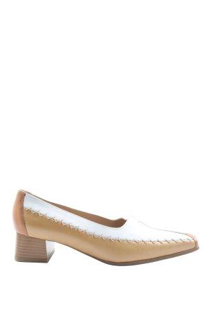 ara Scarpa slip-on marrone-bianco elegante