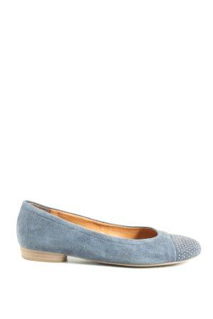 ara Buty wciągane niebieski-w kolorze białej wełny W stylu casual